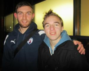 Jay O'Shea, who recently joined the Spireites on a permanent basis