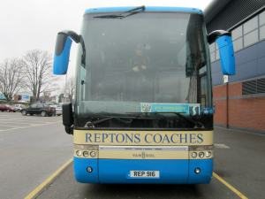 The visitors team coach