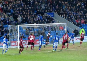The Spireites come close to doubling their lead