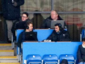 Suspended Chesterfield defender Sam Hird takes up a position on commentary for Spireites Player