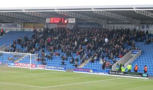 The travelling Gills supporters