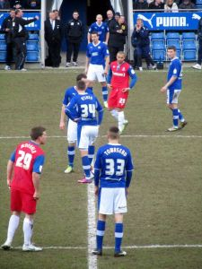 Chesterfield restart the game after falling behind