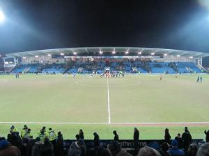 Frustrated Chesterfield supporters head home