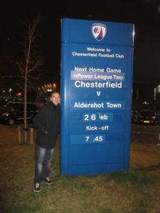 Aldershot Town make their second visit to the Proact Stadium