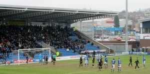 The Spireites look to further their lead