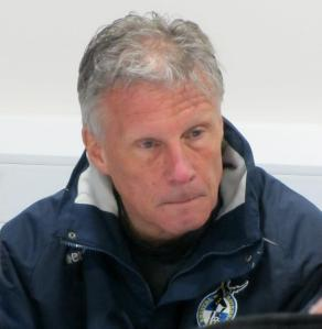 John Ward talks about his sides defeat