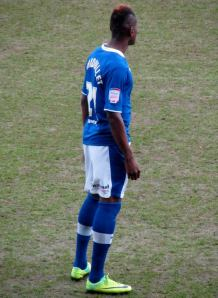 Armand Gnanduillet starts for the Spireites