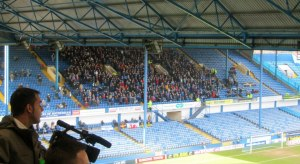 The travelling supporters