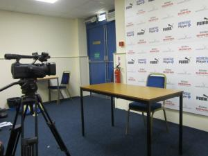 The press conferences room