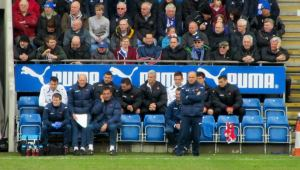 The away dugout