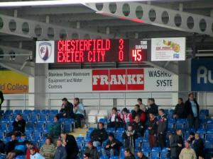 The half time score