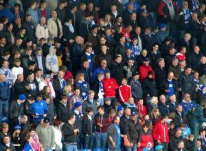Fans in the Kop