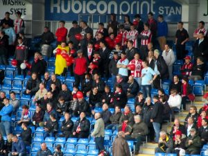 The away suppoerts