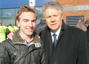 Former Spurs player, England international and current Exeter City Director of Football Steve Perryman
