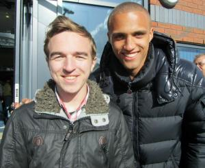Aston Villa and former Chesterfield player Jordan Bowery