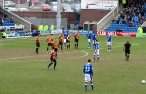 Another Randall free kick
