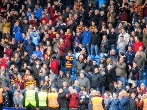 The Bradford fans