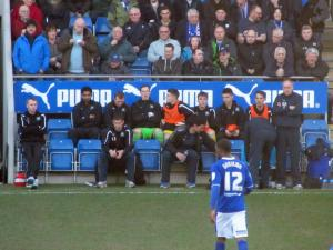 Former Chesterfield boss John Sheridan back at the Proact Stadium