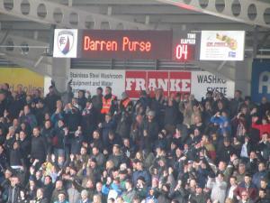 Purse is the scorer