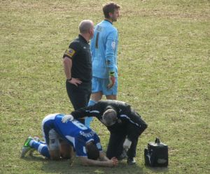 Richards receives treatment