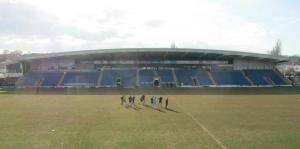 The Vale players warm down