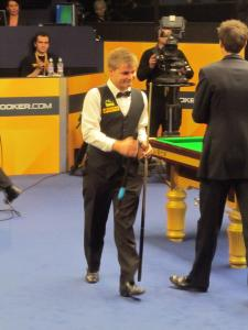 Crucible debutant Michael White