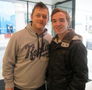 With the reigning World Open champion Mark Allen