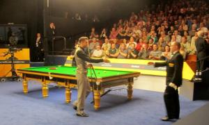 Mark Selby, who ran out a comfortable 10-4 winner