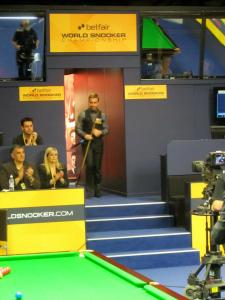 Twice World finalist Ali Carter