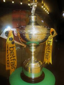 The World Snooker trophy