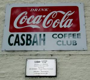 Another sign to the Casbah, with the plaque underneath recognising its historical significance