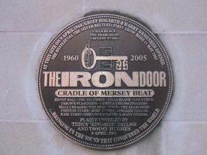 The Iron Door plaque