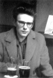 Stuart Sutcliffe inside the pub