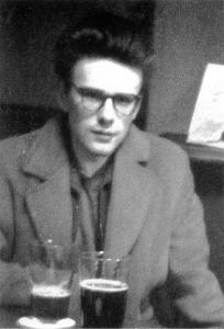Stuart Sutcliffe inside the pub
