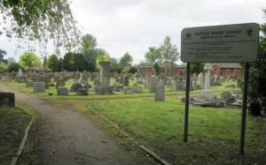 Huyton Parish Cemetery, the final resting place of Stuart Sutcliffe