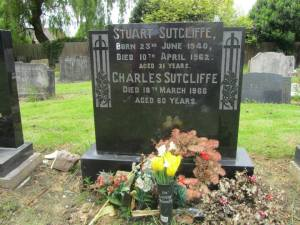 The original Beatles bassist is buried alongside his father Charles