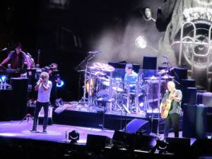 The first part of the show sees the Quadrophenia album performed in full