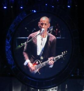 Pete Townshend's younger brother Simon plays rhythm guitar and vocals on the tour