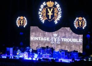 The support band, Vintage Trouble