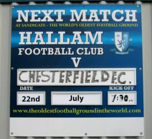 Chesterfield make their first ever visit to Sandygate