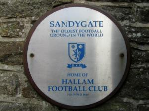 The oldest football ground in the world