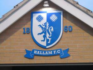The Hallam badge