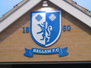 The Hallam badge