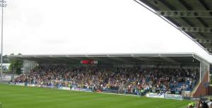Wednesday fans fill the away end