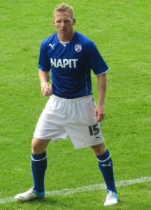 Ritchie Humphreys, who signed for the Spireites after a 12-year spell at Hartlepool United