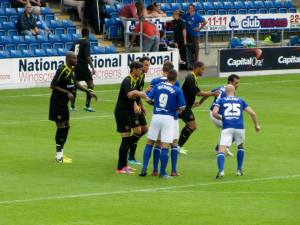 The Spireites look to further their advantage