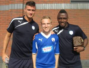 Gary Madine and Jermaine Johnson