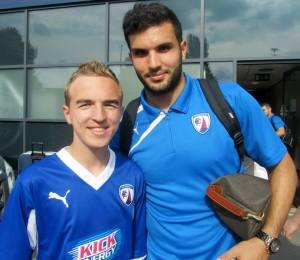 Goalscorer Hamza Bencherif