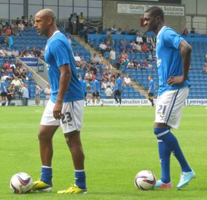 Trialist Wayne Thomas and Gnanduillet