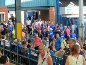 Chesterfield supporters arriving